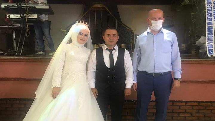 Zeynep Usta ile Orhan Elibol'un düğün merasimine katıldık