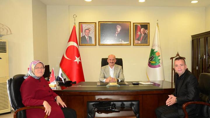 Düzce İl Genel Meclisi Başkanı Sayın Ayfer Yılmaz'ın Belediyemizi ziyareti