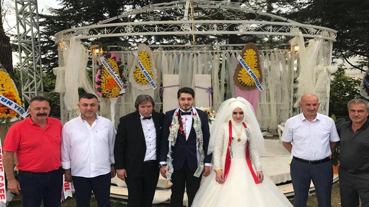 Neşe BAŞ ile Turhan ÇOBANOĞLU çiftinin düğün merasimine katıldık