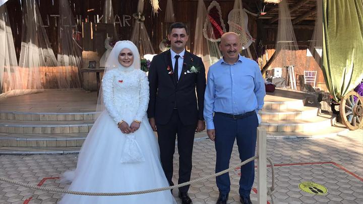 Ayşe Gül ile Ramazan Ercan'ın düğün merasimine katıldık