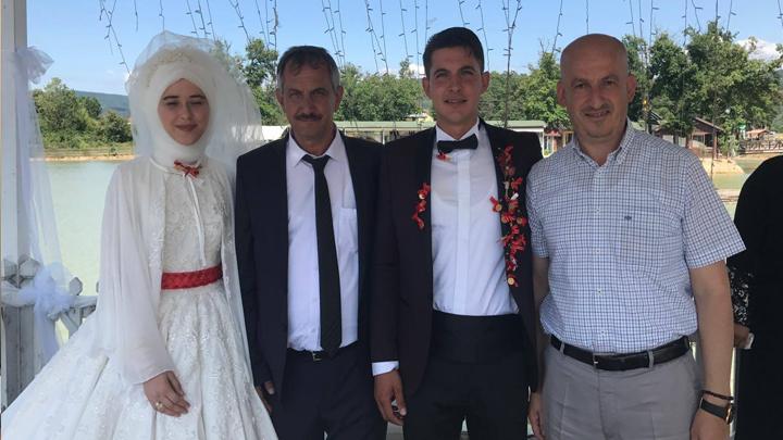 Şeyma BOZ ile Sefa UÇAR çiftinin düğün merasimi