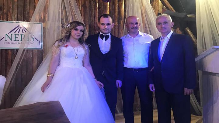 Ebru Çavuş ile Emre Tülay çiftinin düğün merasimine katıldık