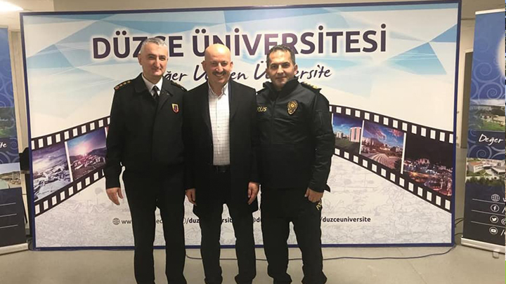 Düzce Üniversitesi Akçakoca Bey Siyasal Bilgiler Fakültesi açılış törenine katıldık