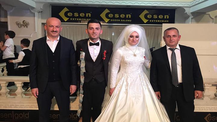 Hasan Sert ile Asiye Hamurci'nin düğün merasimine katıldık.