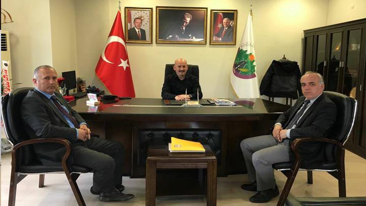 Düzce Üniversitesi Sağlık, Kültür ve Spor Daire Başkanı Sayın Tahir GÜNEY'in ziyareti