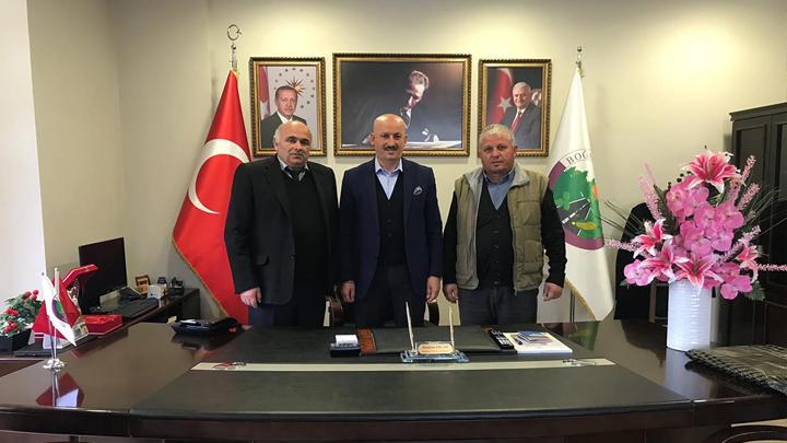BAŞKAN ERCAN'A TEŞEKKÜR ZİYARETİ!