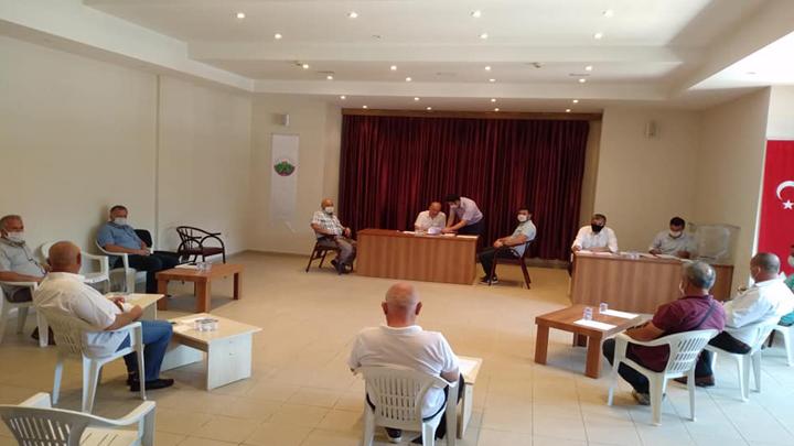 Temmuz ayı Belediye Meclis Toplantımız