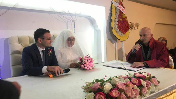 Çiğdem YEŞİLDAĞ ile Hasan YILDIZ çiftinin düğün merasimine katıldık