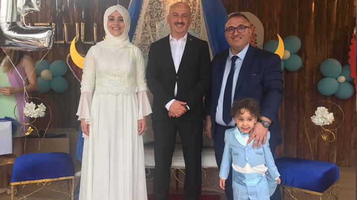 AK Parti Boğaziçi Kadın kolları başkanı Havva Deniz'in çocukları Ebubekir'in sünnet merasimine katıldık