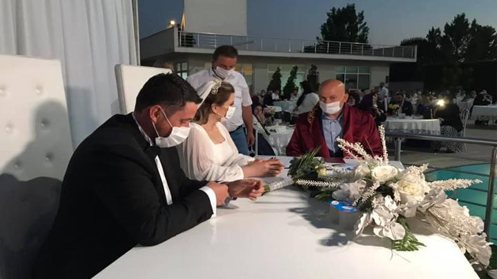 Ayşenur Sertoğlu ile Engin Eser'in düğün merasimine katıldık