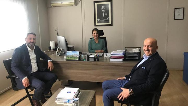 Düzce 1.Organize Sanayi Bölgesi Müdürü Aylin Özdemir'i ziyaretimiz
