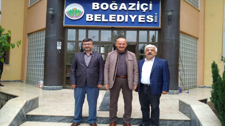 Gümüşova Belediye Başkanı Sayın Ahmet AZAP'ın Ziyareti