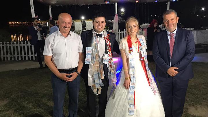 Tülin Akcan ile Emre Zengin çiftinin düğün merasimine katıldık