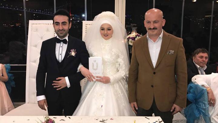Gülcan ÇELİK ile Serkan ÇETİN'in düğün merasimine katıldık