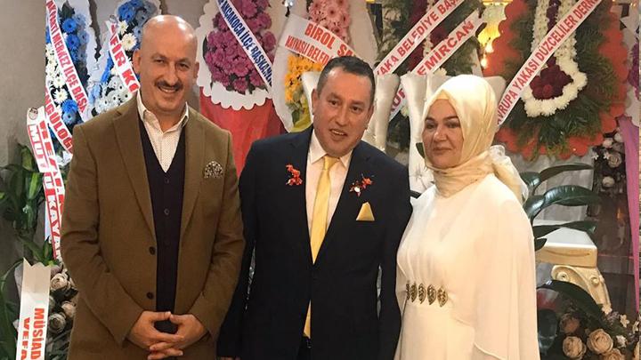 Öncü Medya Haber Genel Yayın Yönetmeni Sadullah Ünsal'ın düğün merasimine katıldık.
