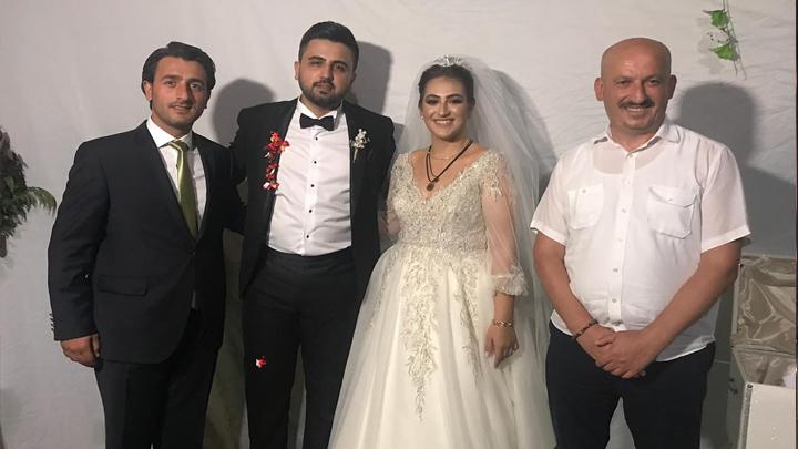 Zehra Nur Sert ile Enes Engin'in düğün merasimine katıldık.