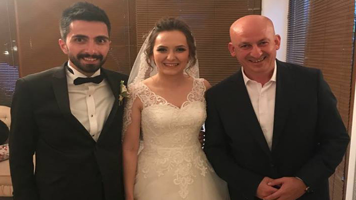 Ayşegül ÖZCAN ile Kudret YAMAN çiftinin düğün merasimi